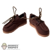 Shoes: Double Play Brown Shoes
