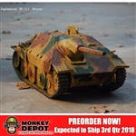 DZ Model 1/6 full metal Hetzer Tri- Colour Ambush Scheme