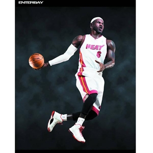 Boxed Figure: Enterbay 1/6 Lebron James (RM-1041)