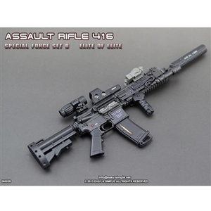Easy & Simple Assault Rifle 416 Special Force Set Elite (06002B)