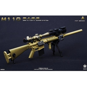 Easy & Simple M-110 Semi Automatic Sniper System Fort Benning (06003A)