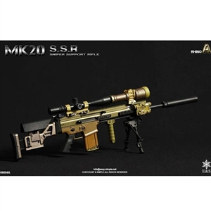Easy & Simple MK20 Sniper Support Rifle Set A Rhino (06004A)