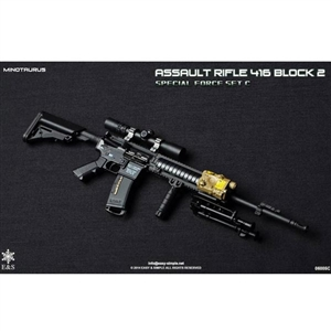 Rifle Set: Easy & Simple 416 Block 2 Set C Minotaurus (06005C)