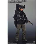 Boxed Figure: Easy & Simple Black Operation Field Agent Langley (ES-26002)