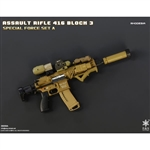 Rifle Set: Easy & Simple HK416 Assault Rifle Set Rhodesia (06008A)