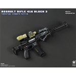 Rifle Set: Easy & Simple HK416 Assault Rifle Set South Kensington (06008B)