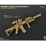 Rifle Set: Easy & Simple HK416 Assault Rifle Set Geronimo (06008C)