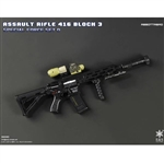 Rifle Set: Easy & Simple HK416 Assault Rifle Set Abbottabad (06008D)