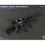Rifle Set: Easy & Simple HK416 Assault Rifle Set Phillips (06008F)
