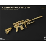 Rifle Set: Easy & Simple 7.62mm Assault Rifle 417 Tigercat (06009C)