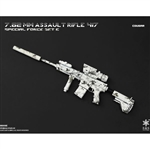 Rifle Set: Easy & Simple 7.62mm Assault Rifle 417 Cougar (06009E)