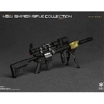 Rifle Set: Easy & Simple NSW Sniper Rifle MK12MOD1 (ES-06010B)