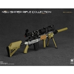 Rifle Set: Easy & Simple NSW Sniper Rifle MK14MOD1 (ES-06010E)
