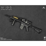 Rifle Set: Easy & Simple SFOD-D Assault Rifle Set A (ES-06011A)