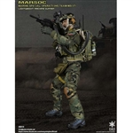 Boxed Figure: E&S Marine Spec Ops Team Sharpshooter w/Lightweight Machine Gun (ES-26015)