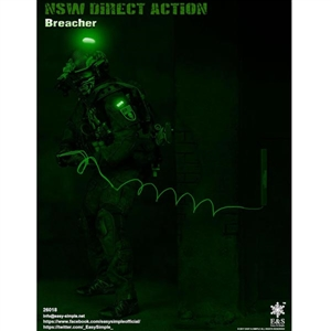 Boxed Figure: E&S NSW Direct Action Breacher (ES-26018)