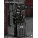 Boxed Figure: E&S British Specialist Firearms Command Shieldman (ES-26017S)
