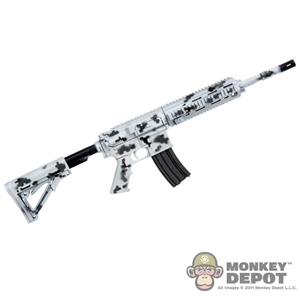 Rifle: Easy & Simple HK 416 Assault Rifle (Digital Snow Camo)