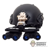 Helmet: Easy & Simple Airframe Helmet w/System NVG Mount & GPNV Quadeye NV System w/Battery Pack