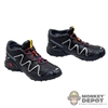 Boots: Easy & Simple Salomon Hiking Shoes (No ankle pegs)