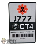 Card: Easy & Simple 1/1 Scale J 777 CAC Card