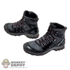 Boots: Easy & Simple Molded Salomon Hiking Boots (No ankle pegs)