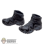 Boots: Easy & Simple Molded Zephyr Hiking Boots (No ankle pegs)