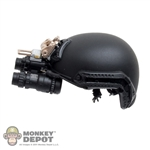 Helmet: Easy & Simple Black FAST Ballistic Helmet w/NVG