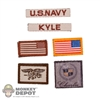 Insignia: Easy & Simple Chris Kyle Patch Set