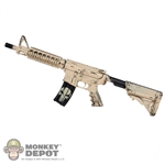 Rifle: Easy & Simple Weathered MK18MOD0