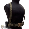 Holster: Easy & Simple Battle Belt w/Ammo Holsters & Suspenders