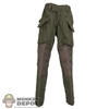 Pants: Easy & Simple Green Combat Pants