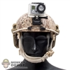 Helmet: Easy & Simple Desert FAST Base w/Go Pro Camera