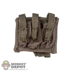 Ammo: Easy & Simple Triple Pistol Mag Pouch