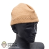 Hat: Easy & Simple Tan Beanie