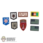 Insignia: Easy & Simple MARSOC MSOT Recon Sniper Patch Set