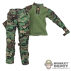 Uniform: Easy & Simple Woodland Combat