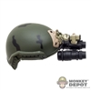 Helmet: Easy & Simple Maritime Ballistic w/PVS-15 NVG Wilcox Amber Filter
