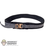 Belt: Easy & Simple Black Cobra Belt