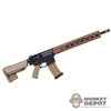 Rifle: Easy & Simple AR-15 Assault Rifle w/Super Modular Rail System 15""