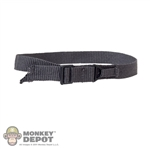 Belt: Easy & Simple Gray Rigger's Belt