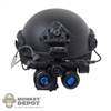 Helmet: Easy & Simple FAST Maritime Ballistic w/NVG & Battery Pack