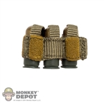 Ammo: Easy & Simple 40mm Triple Grenade Pouch w/Grenades