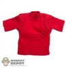 Shirt: Easy & Simple Red T-Shirt