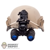 Helmet: Easy & Simple MICH2000 Ballistic Helmet w/NVG