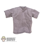 Shirt: Easy & Simple Gray T-Shirt w/Padding