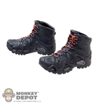 Boots: Easy & Simple Black Molded Boots