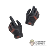 Hands: Easy & Simple Black/Red Molded Hands
