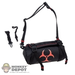 Bag: Easy & Simple Black Biohazard Bag w/Shoulder Strap