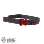 Belt: Easy & Simple Gray Cobra Belt